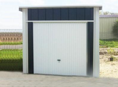 abri garage en métal