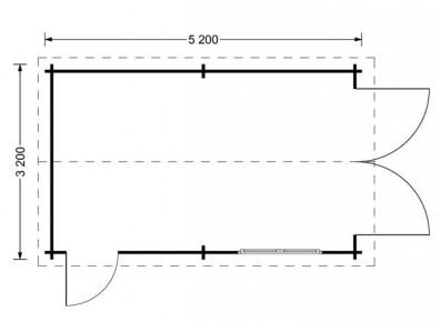 dimensions d'un garage en kit