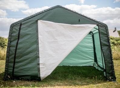 Garer sa voiture en camping sans permis de construire ? C'est possible grâce à la tente de stockage