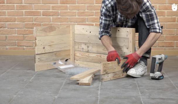 Etapes par étapes, construisez de vos propres mains un coffre de rangement en bois