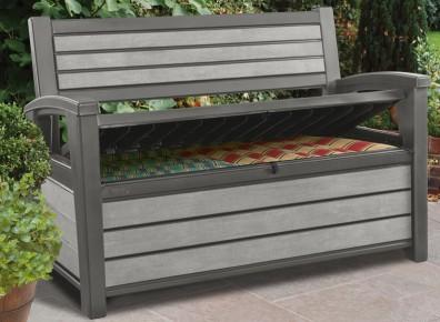 Optez pour un banc de rangement pour jardin, une solution esthétique et fonctionnelle