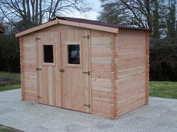 Cabane de jardin en bois Douglas, ultra résistant et design !