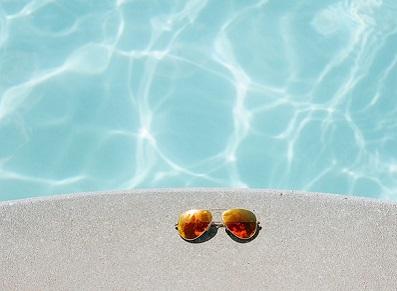 abri pour la piscine