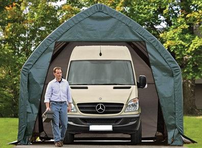 Témoignages : ils ont choisi un garage en toile PVC ou un tunnel de stockage