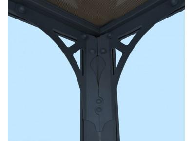 Toit terrasse et tonnelle métal