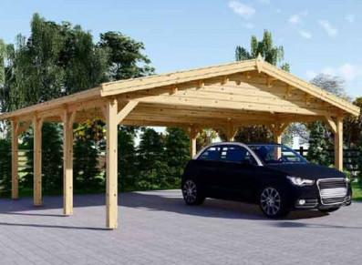 Garer deux voitures en extérieur : voyez double avec votre carport !