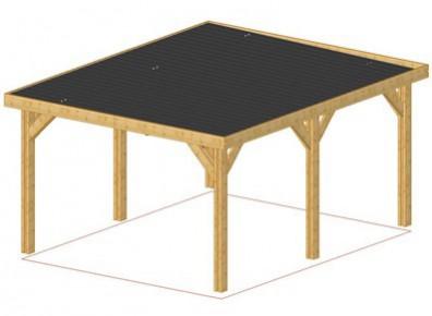 Installer un carport bois à toit plat en 8 étapes