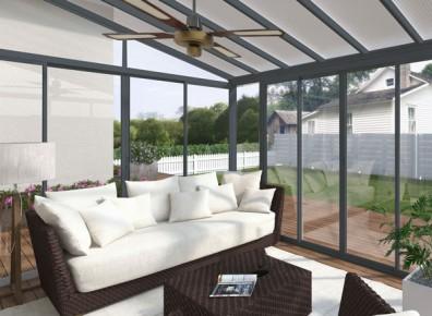 Installation d'une véranda à bas prix pour protéger sa terrasse