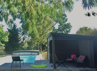 abri piscine télescopique