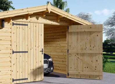 Vous souhaitez isoler la porte d'un garage en bois ? On vous explique tout