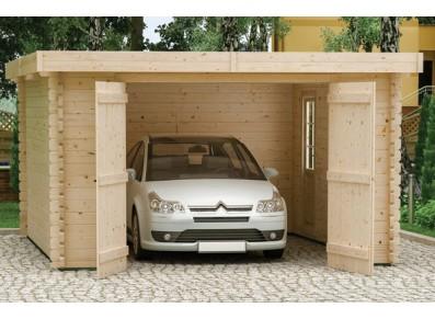 Le sol en parpaings pour éviter de construire une dalle béton pour votre garage bois