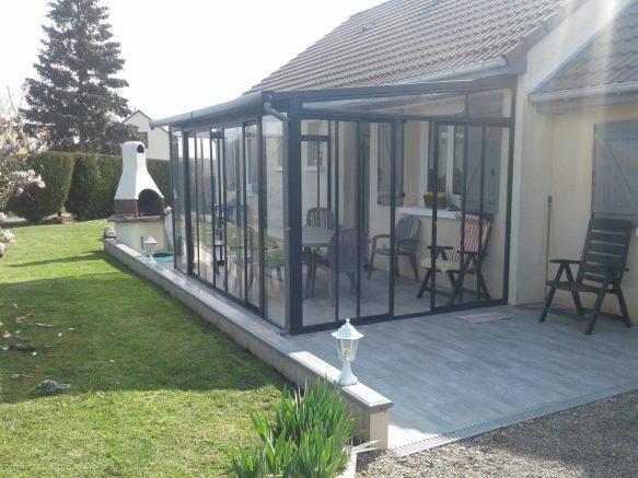 Installation D Une Veranda A Bas Prix Pour Proteger Sa Terrasse Blog Conseil Abri Jardin Garage Carport Bons Plans