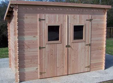 Abri de jardin en bois prix pas cher