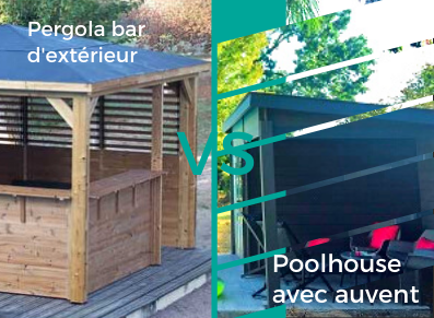 pergola poolhouse
