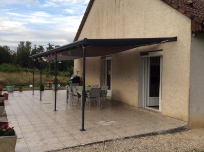Toit terrasse aluminium à adosser à sa maison