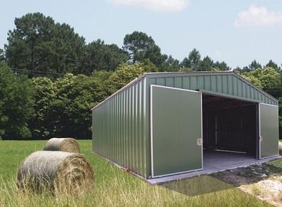 bâtiment agricole gamme TITANIUM INTERMAT