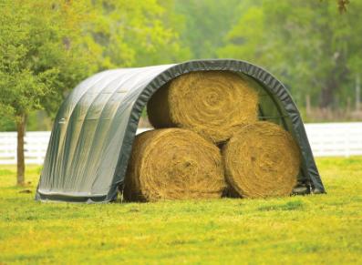 Une solution stockage/élevage de petite taille pour les pros et les particuliers : le tunnel PVC