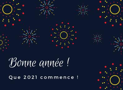 FRANCE ABRIS vous souhaite une bonne et heureuse année 2021 !