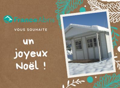 Toute l'équipe de FRANCE ABRIS vous souhaite un joyeux Noël !