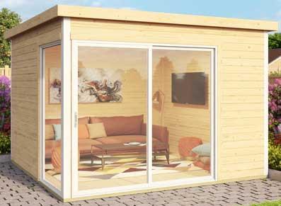 Bureau de jardin pro : votre open space à domicile