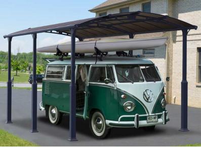 Abri camping-car : un carport en alu pour votre véhicule de loisirs