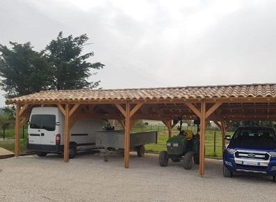 Hangar professionnel en bois
