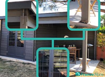 Abri de jardin composite : deux espaces… une grande polyvalence !
