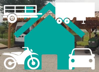 Abri voiture… à remorques ou à vélos ?