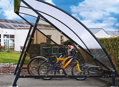L'abri vélos en 3 exemples