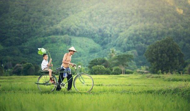 vélo au Cambodge
