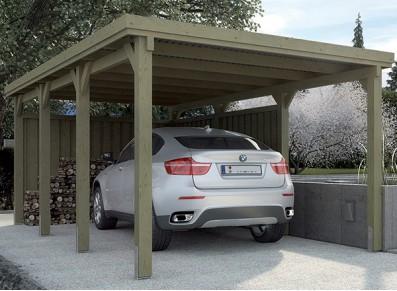 Ils choisissent un carport plutôt qu'un garage : pourquoi ?