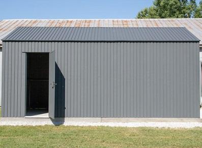 garage métal porte sectionnelle