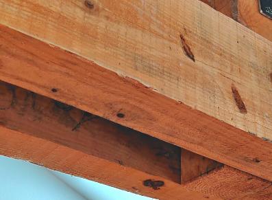 charpente moisée pour ossature bois