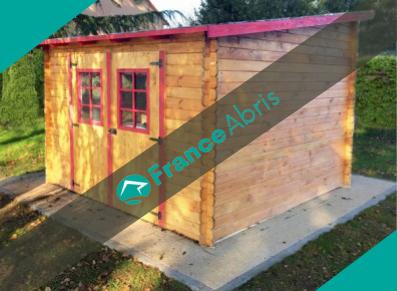 Abri jardin bois : la couleur d'un cabanon de stockage !