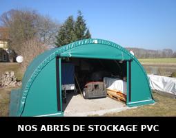 Tunnel de stockage PVC grande capacité