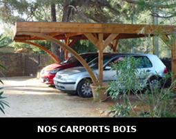 Abri voiture en bois à adapter à vos besoins et envies