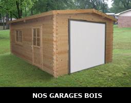 Garages en bois modulables