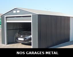 Garage en métal pas cher