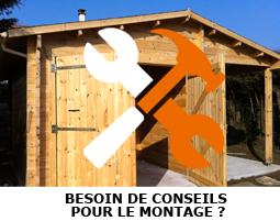 Montage d'un abri bois, nos conseils !