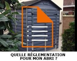 Règlementations et autorisations autour de l'abri de jardin