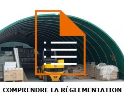 Règlementations des tunnels de stockage