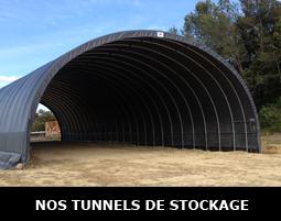 Hangar agricole en toile PVC modulable
