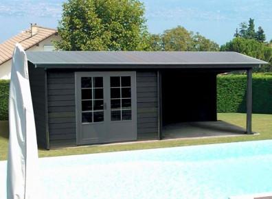 Maisonnette en bois habitable - lesterrassesducaroux.fr