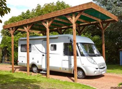 Abri camping car et garage camping car en bois sur devis for Devis gratuit voiture garage