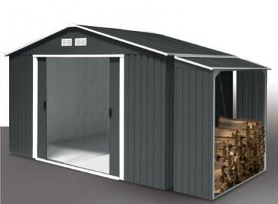 abri jardin m tal abris m talliques pour jardins promo. Black Bedroom Furniture Sets. Home Design Ideas