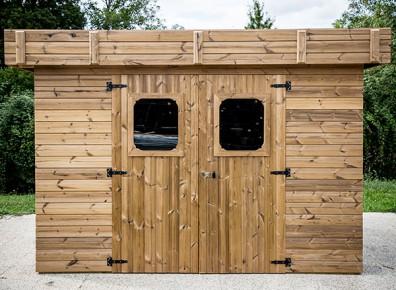 Les abris de jardin bois thermotraités : résistance et qualité ...