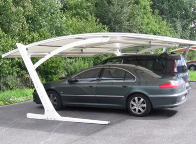 abri voiture toile tendue en pvc un carport pas cher. Black Bedroom Furniture Sets. Home Design Ideas