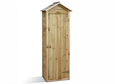 Armoire rangement dédiée au bois chauffage