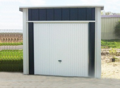 Garages m tal garage m tallique petit prix promo for Garage bois autoclave 20 m2