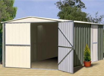 garages m tal garage m tallique petit prix promo. Black Bedroom Furniture Sets. Home Design Ideas